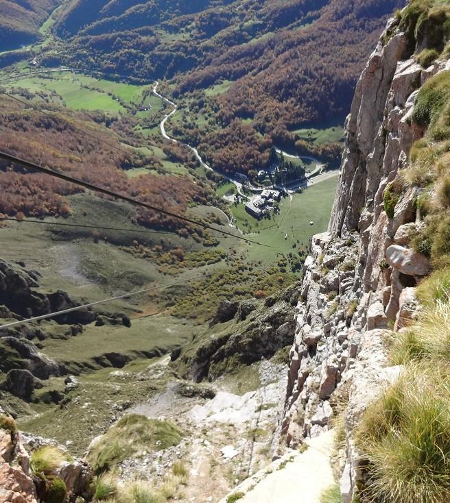 Utsikt från Fuenta Dé