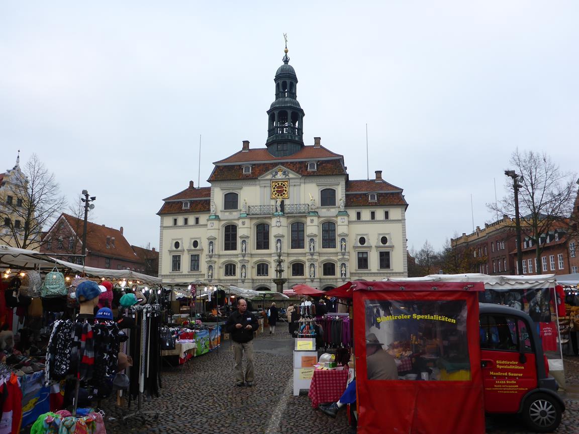 Marknad i Lüneburg