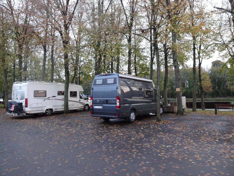 Ställplats i Mareuil suir Ay