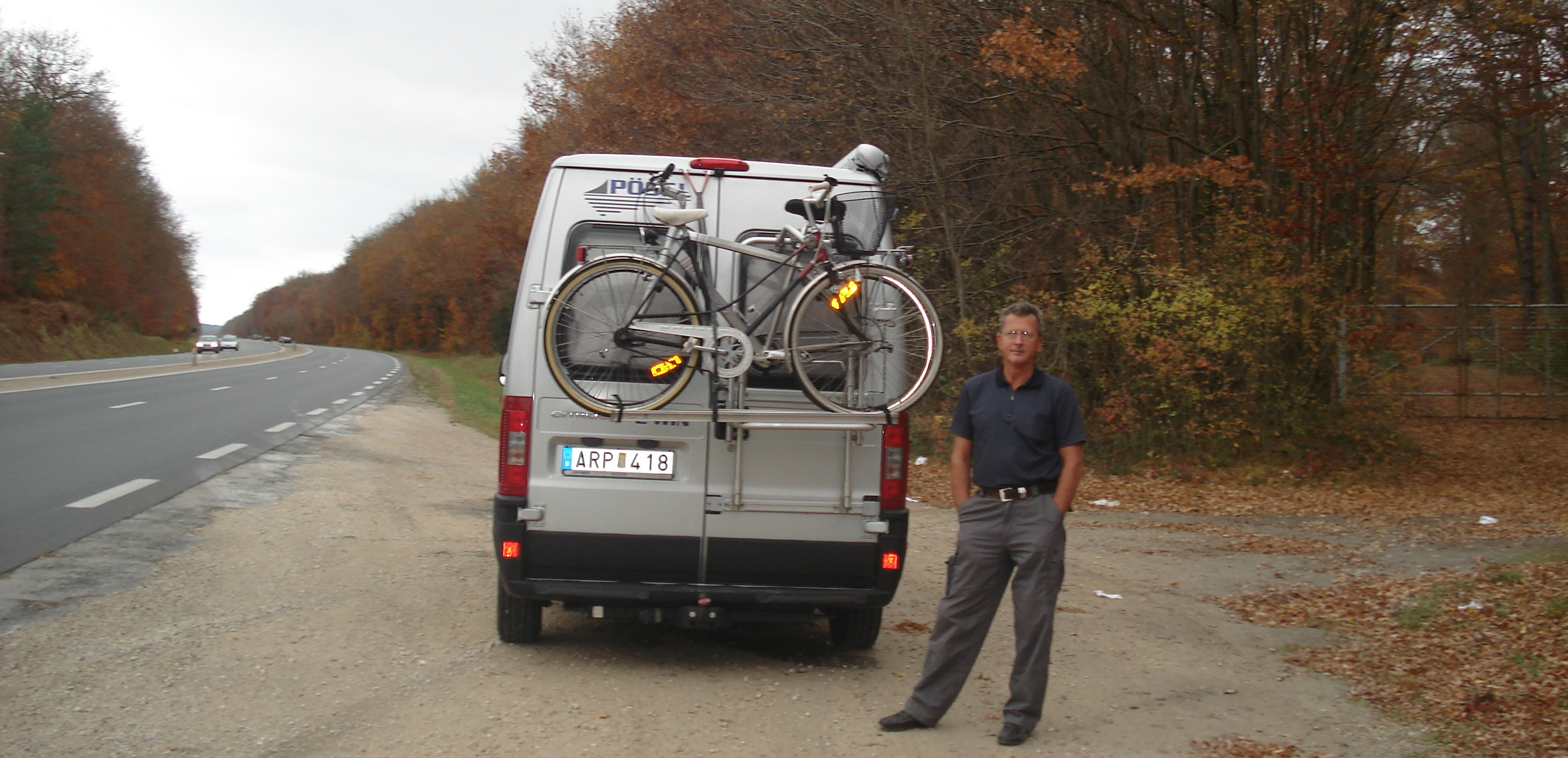 On road to France