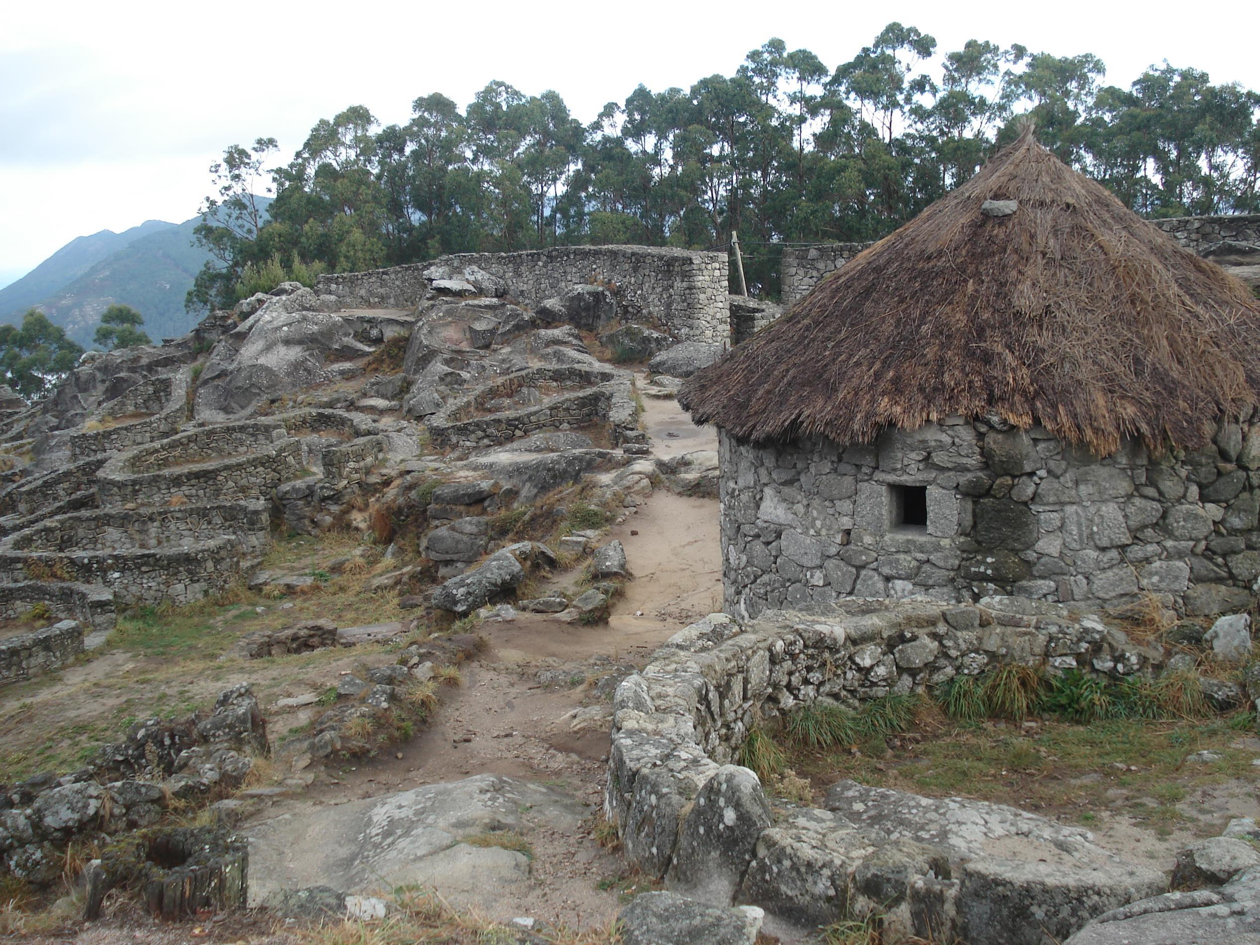Celtic villages