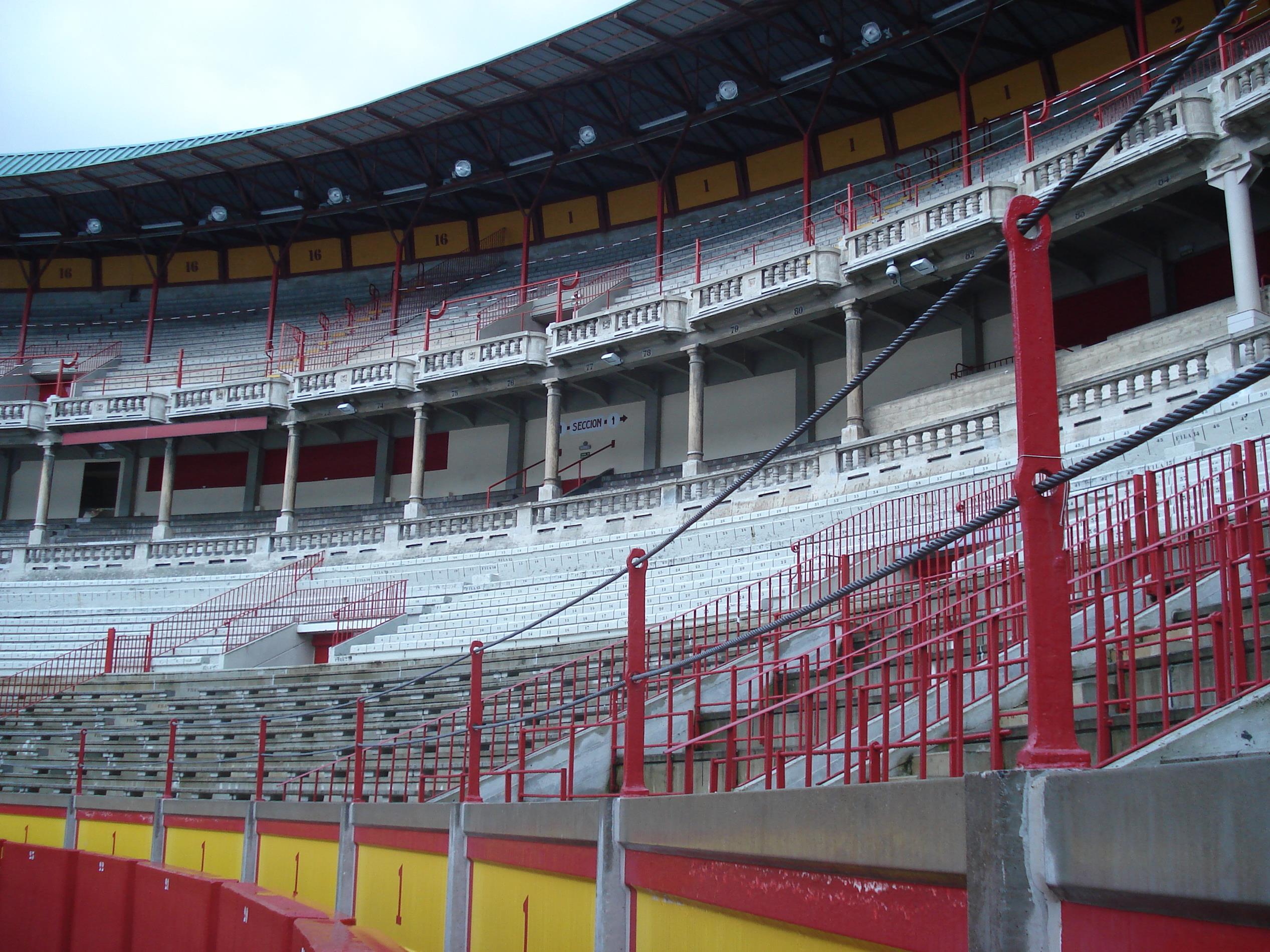 Bullring in Pamplona