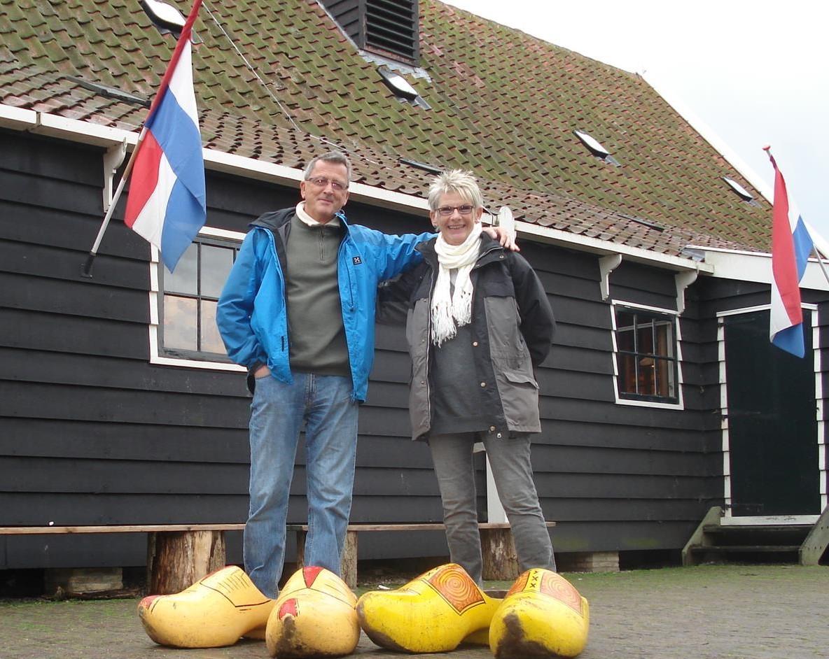 På stor fot i Holland