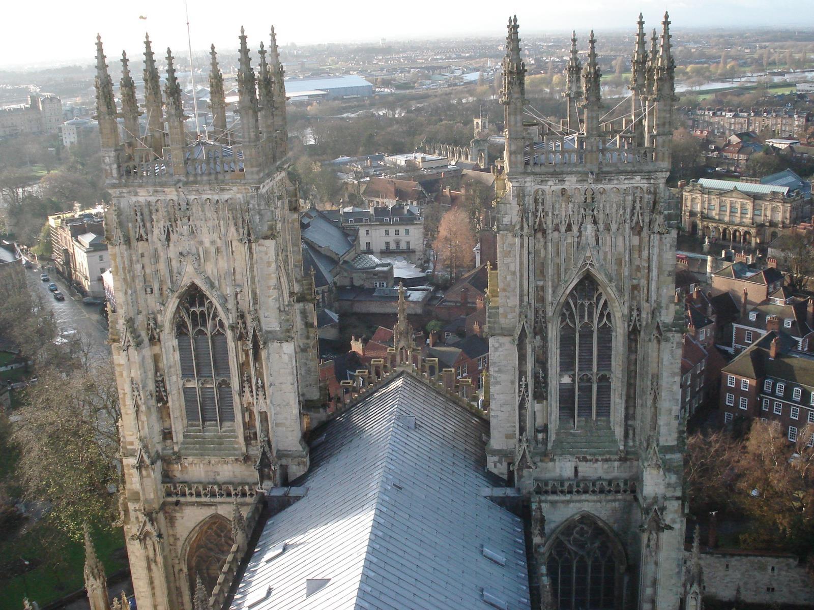 Utsikt från York katedral