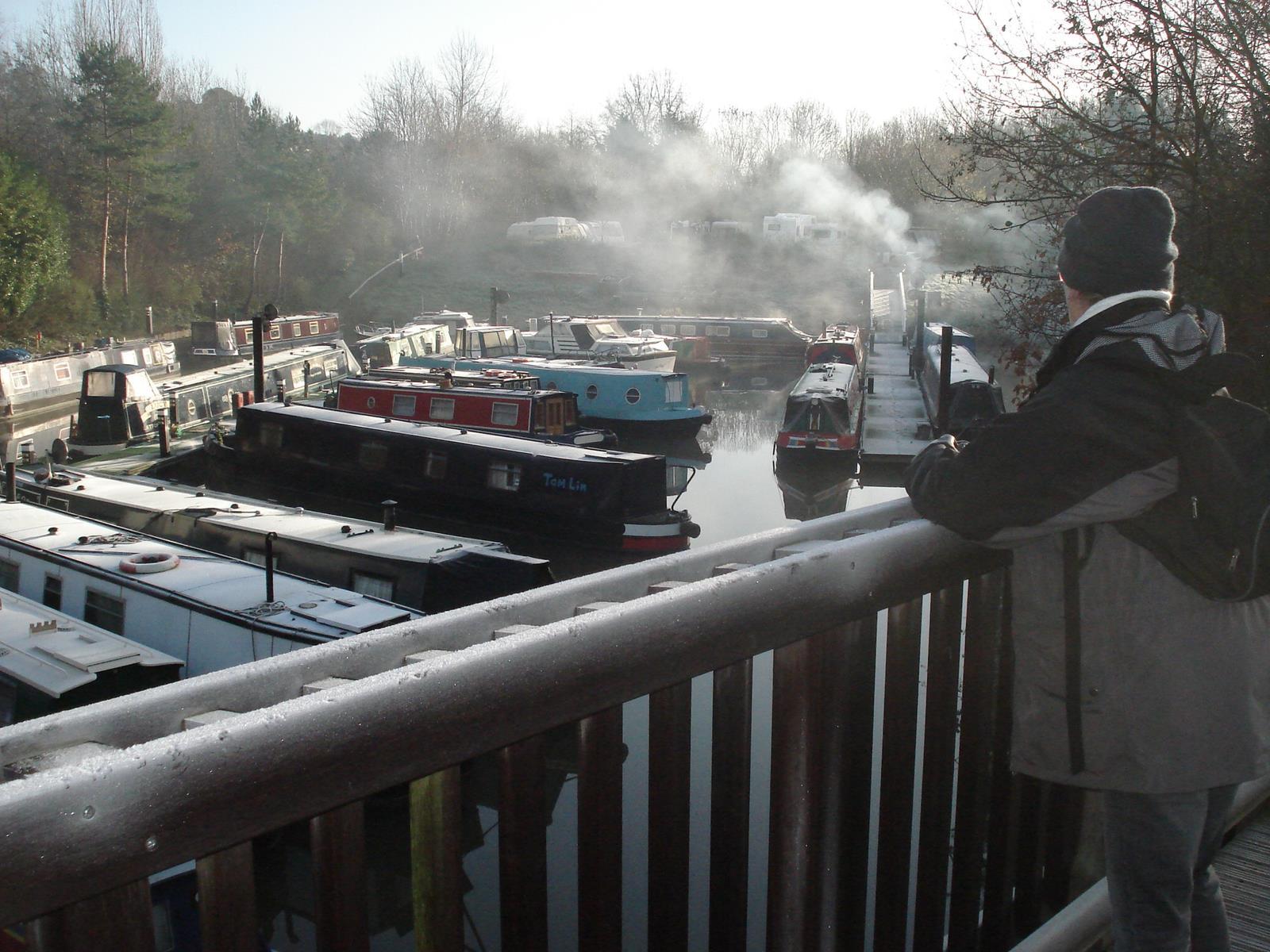 Kanalbåtar i Bath
