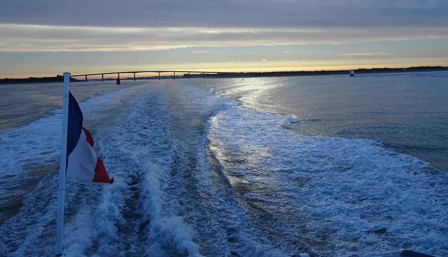 Båtfärd till Ile D'Yeu