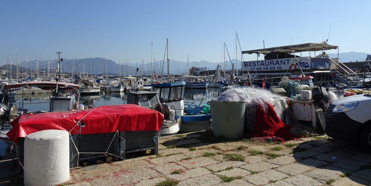 Ajaccio hamn