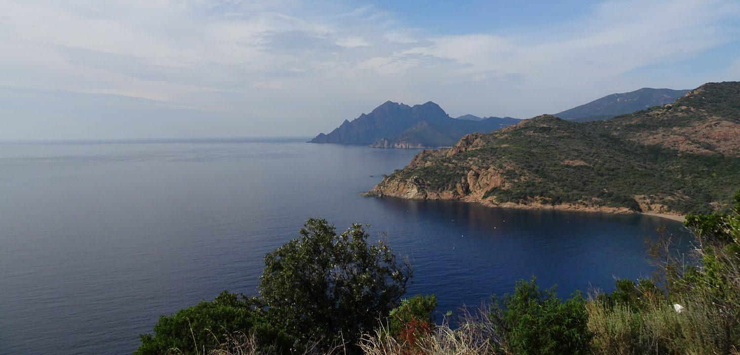 Korsika på väg mot L'il-Rousse
