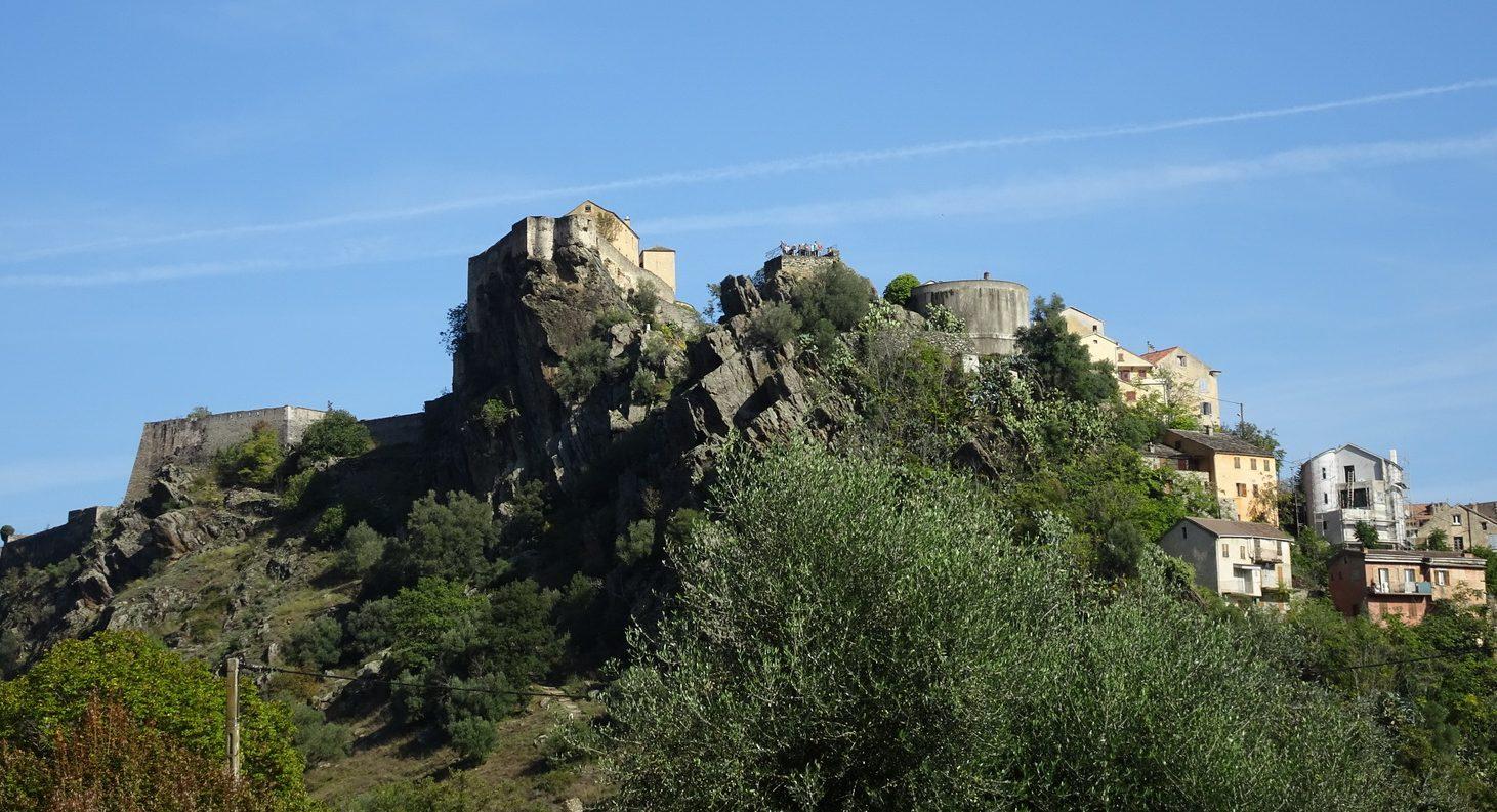 Utsikt från Campingen i Corti