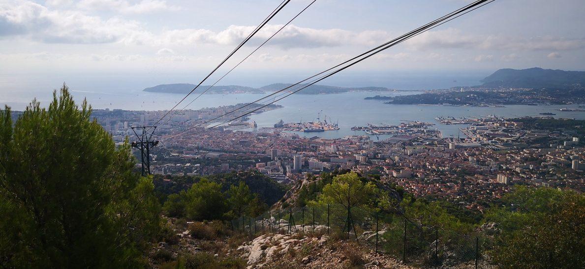 Toulon från ovan